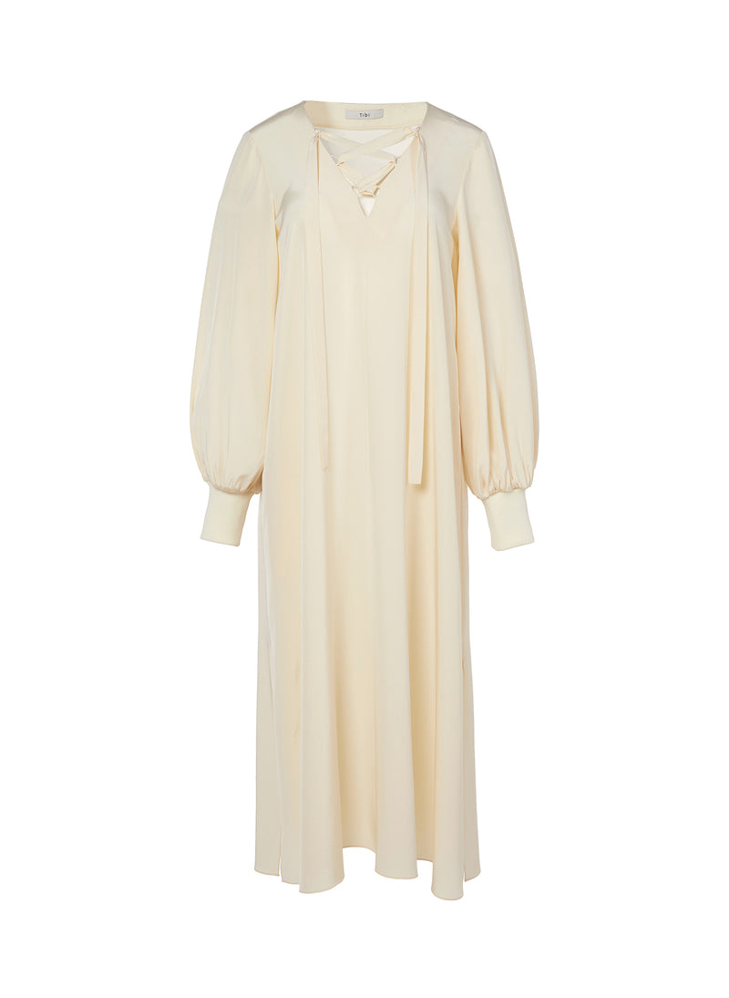 Silk CDC Tunic Dress Butter-3