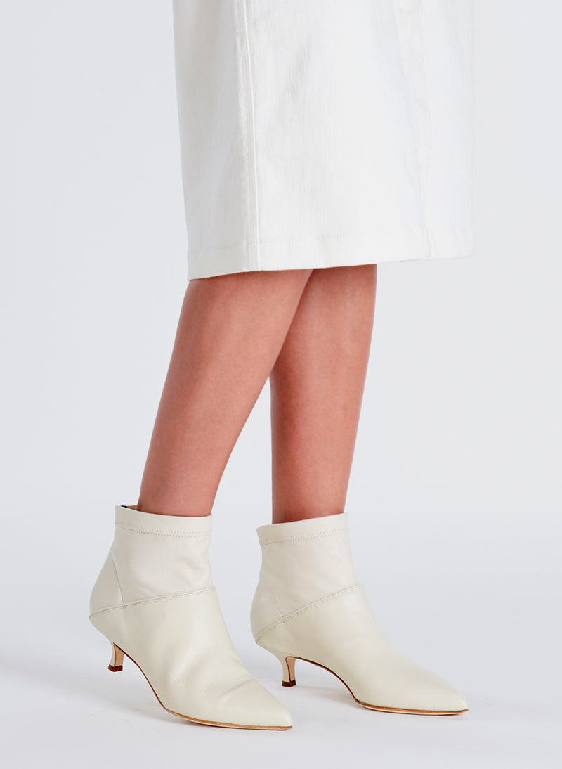 Jean Booties Ivory-5