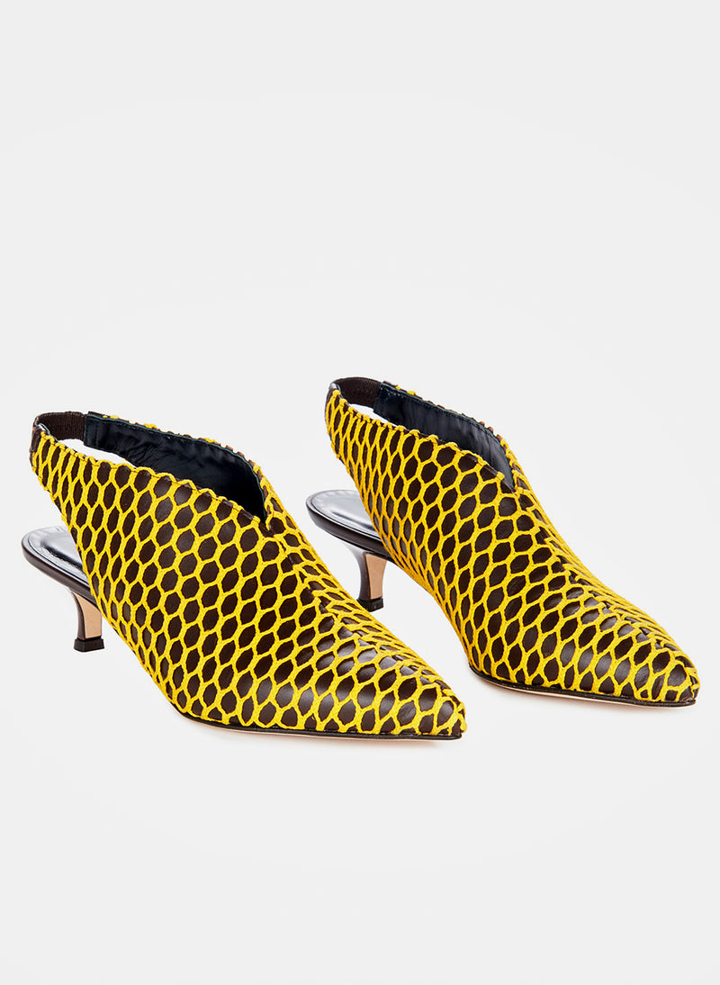 Max Heels Tobacco Yellow Multi-4