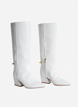 Rowan Boots Bright White-6