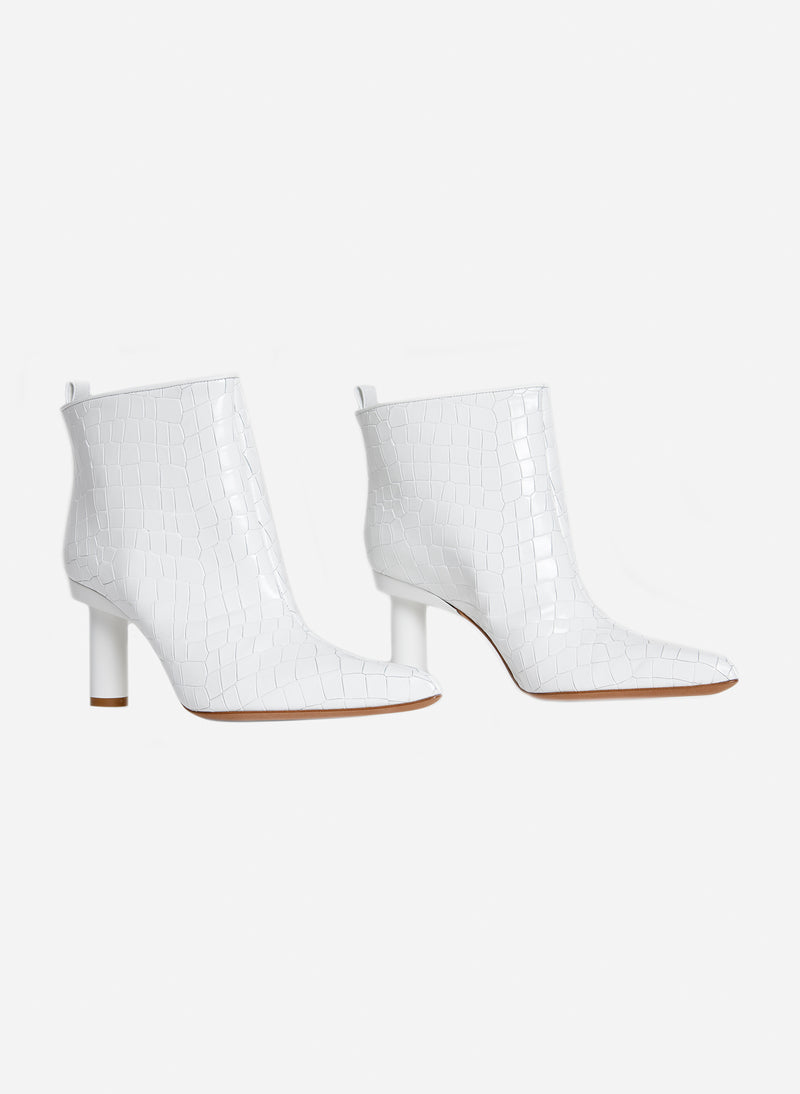 Theo Booties Bright White-12