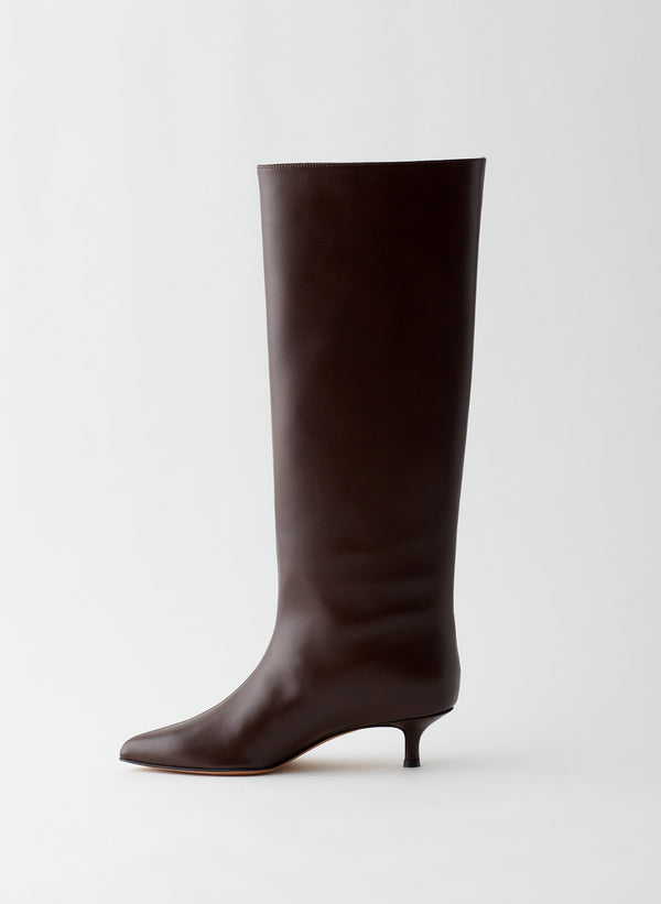 Collier Leather Boot