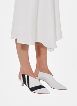 Jase Striped Canvas Mule Jase Striped Canvas Mule