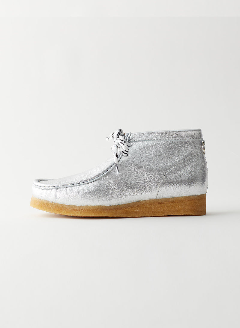 Wallabee Exclusive Silver-9