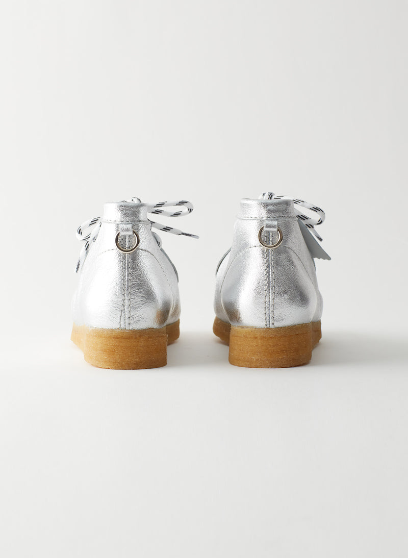 Wallabee Exclusive Silver-10