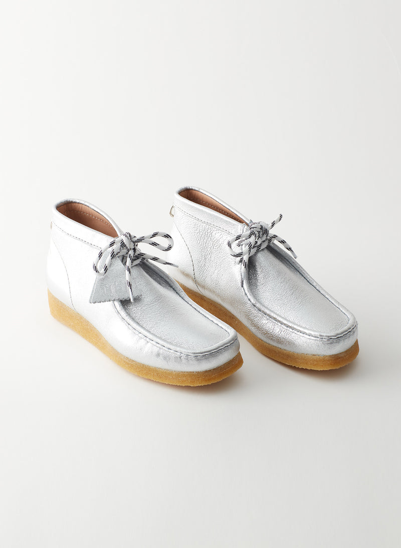 Wallabee Exclusive Silver-11