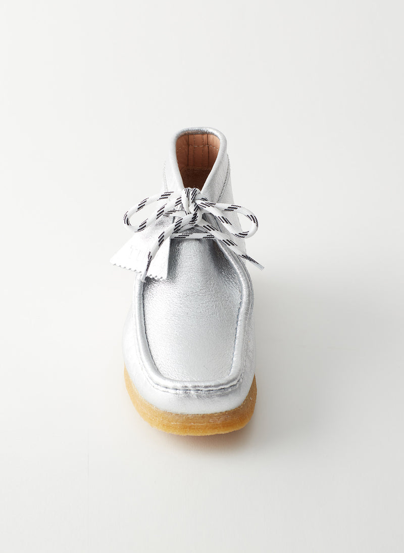Wallabee Exclusive Silver-12