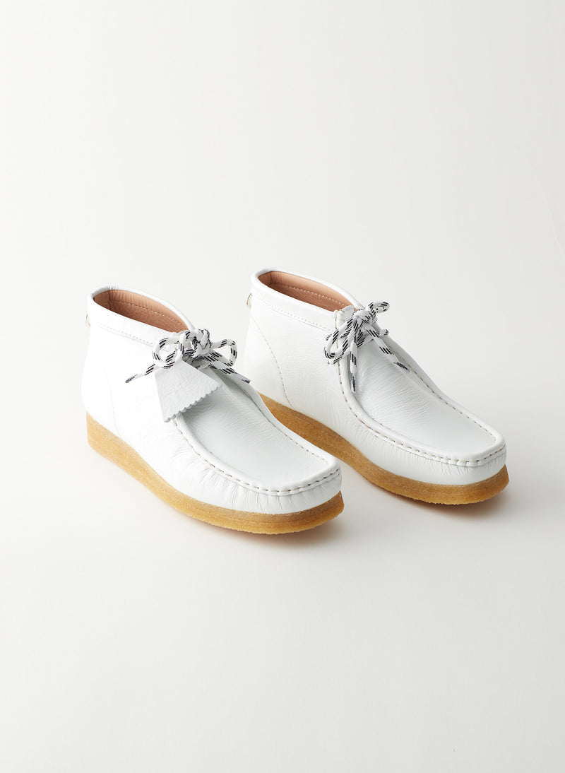 Wallabee Exclusive White-19