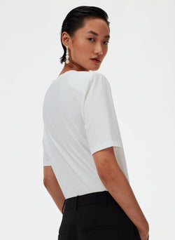 Removable Shoulder Pad T-Shirt Removable Shoulder Pad T-Shirt