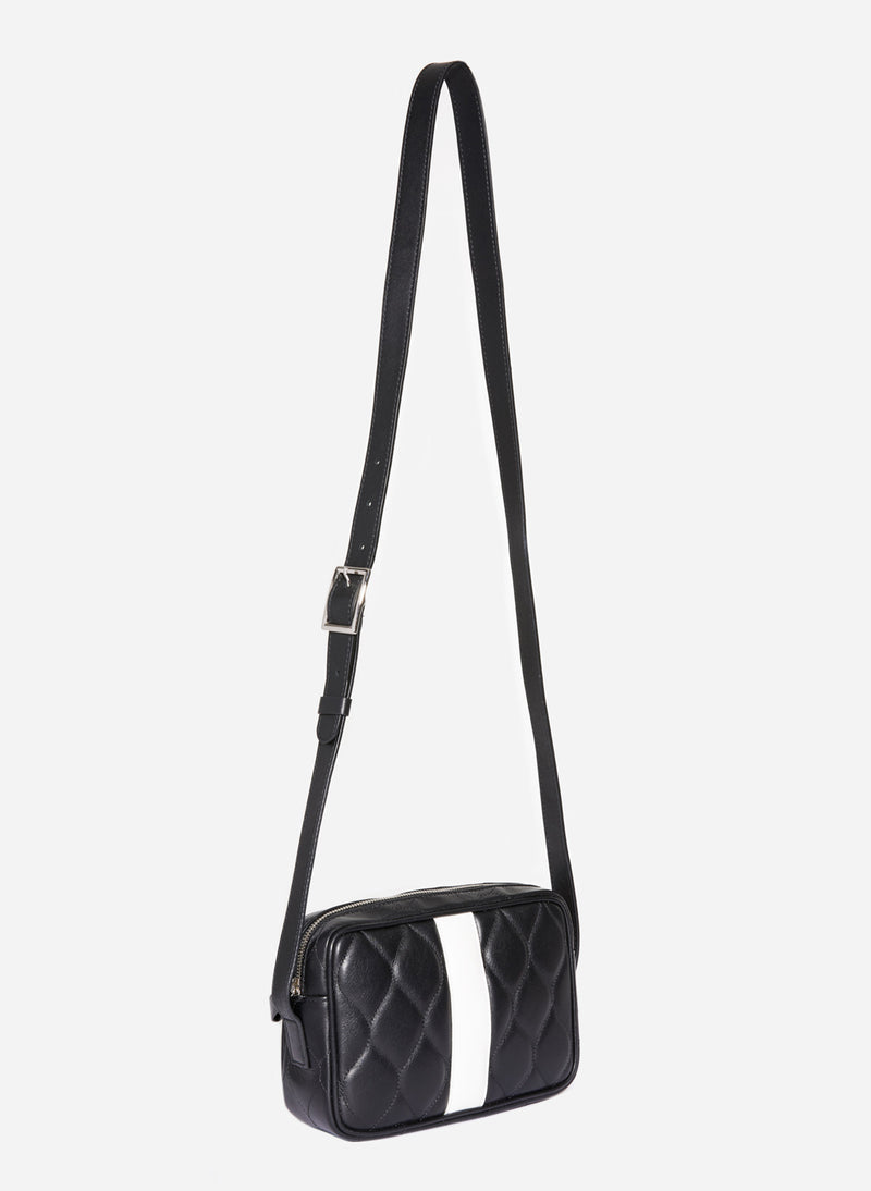 Tibi Bébé Bag Black/Eggshell Multi-7