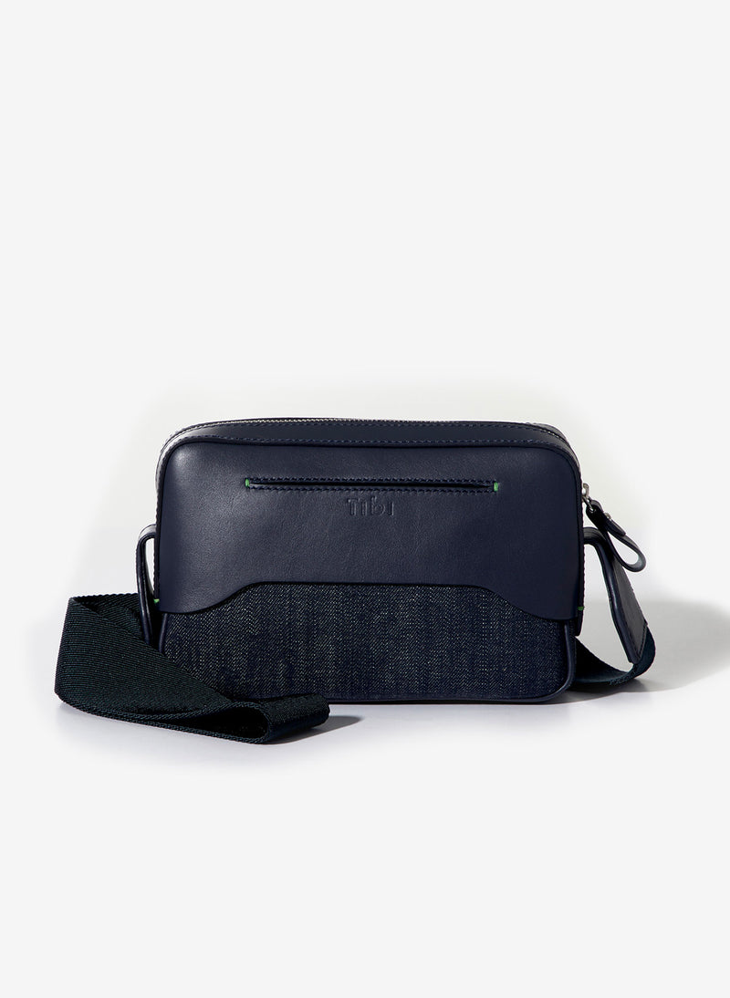 Tibi Bébé Bag Navy/Red-3