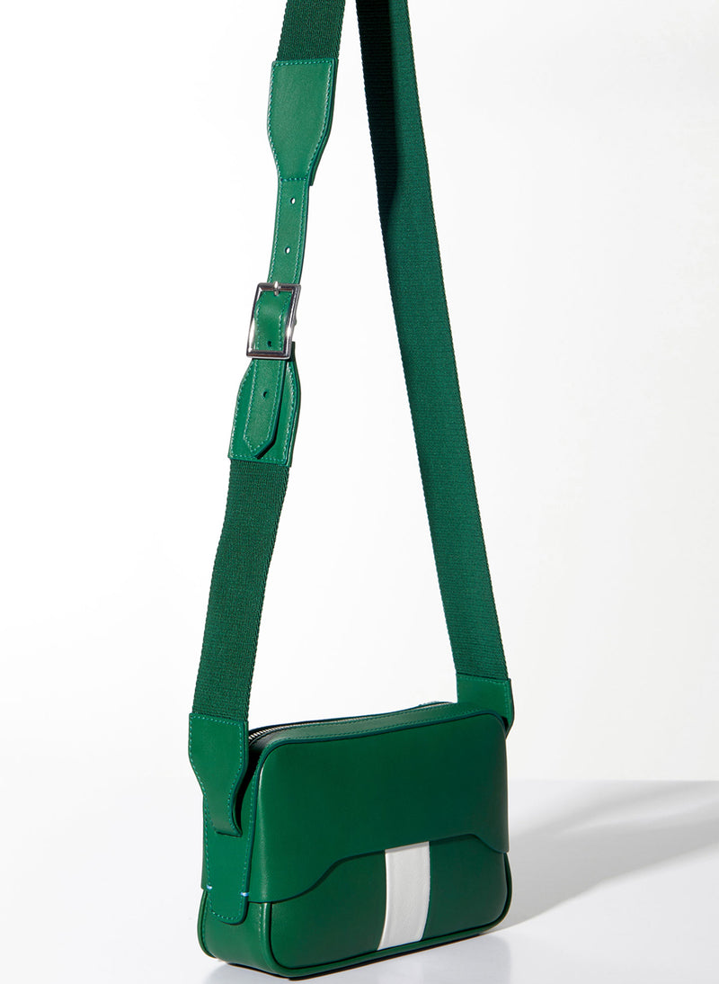 Tibi Bébé Bag Green/White-20
