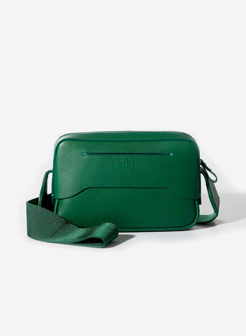 Tibi Bébé Bag Green/White-21