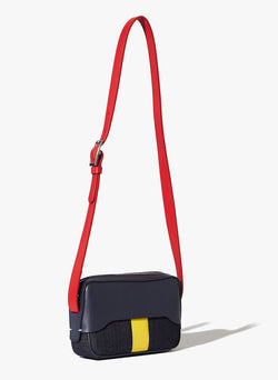 Tibi Bébé Bag Navy/Red/Yellow Multi-2
