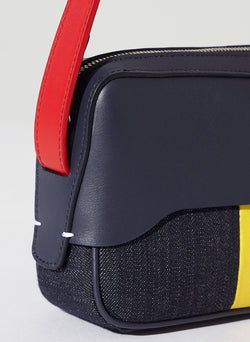 Tibi Bébé Bag Navy/Red/Yellow Multi-4