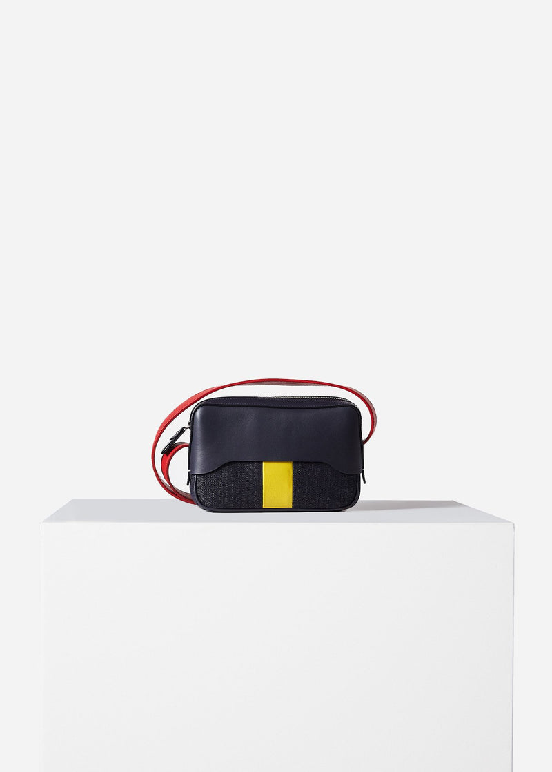 Tibi Bébé Bag avy/Red/Yellow Multi-1