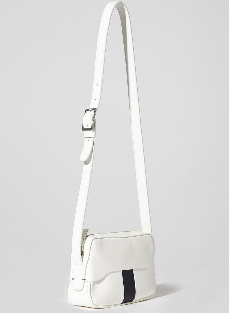 Tibi Bébé Bag White/Black Multi-12
