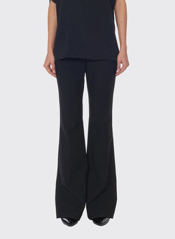 Anson Stretch Bootcut Pant Black-1