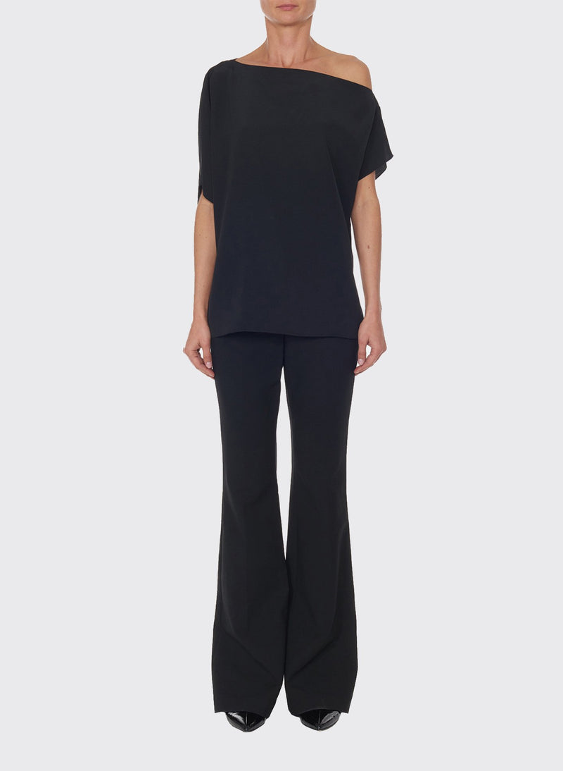 Anson Stretch Bootcut Pant Black-4