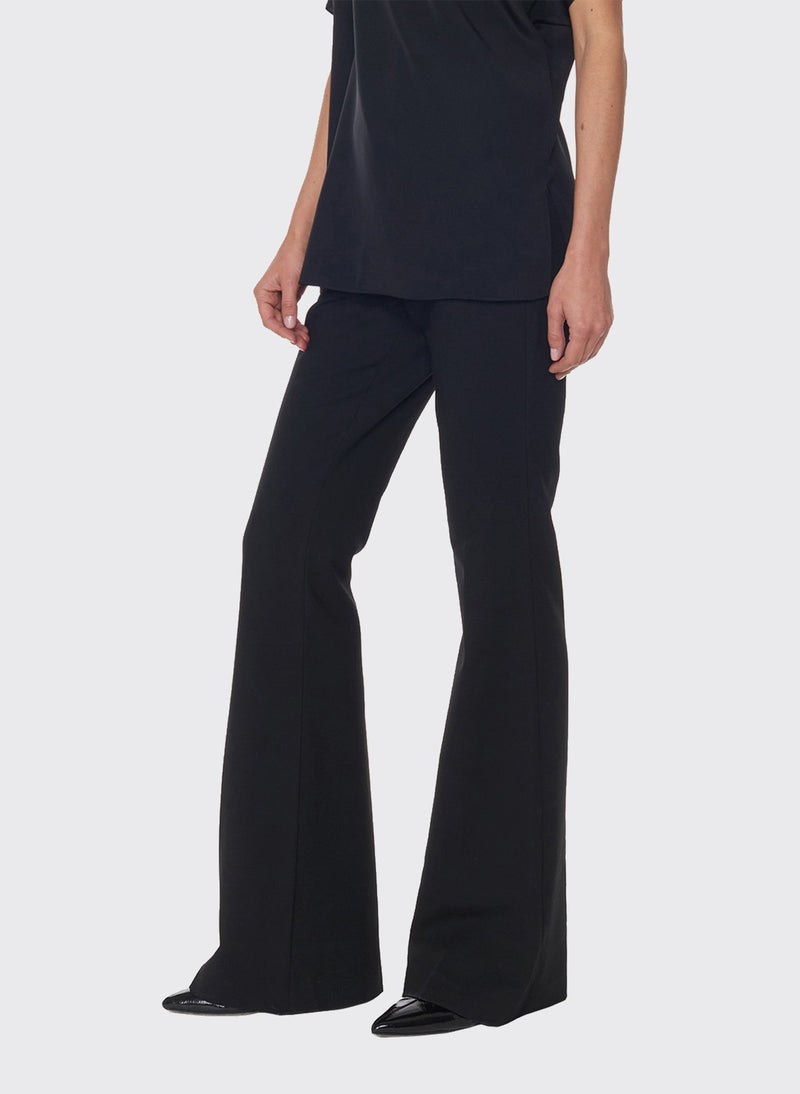 Anson Stretch Bootcut Pant Black-3