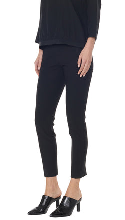 Anson Stretch Seamed Pant Black-4