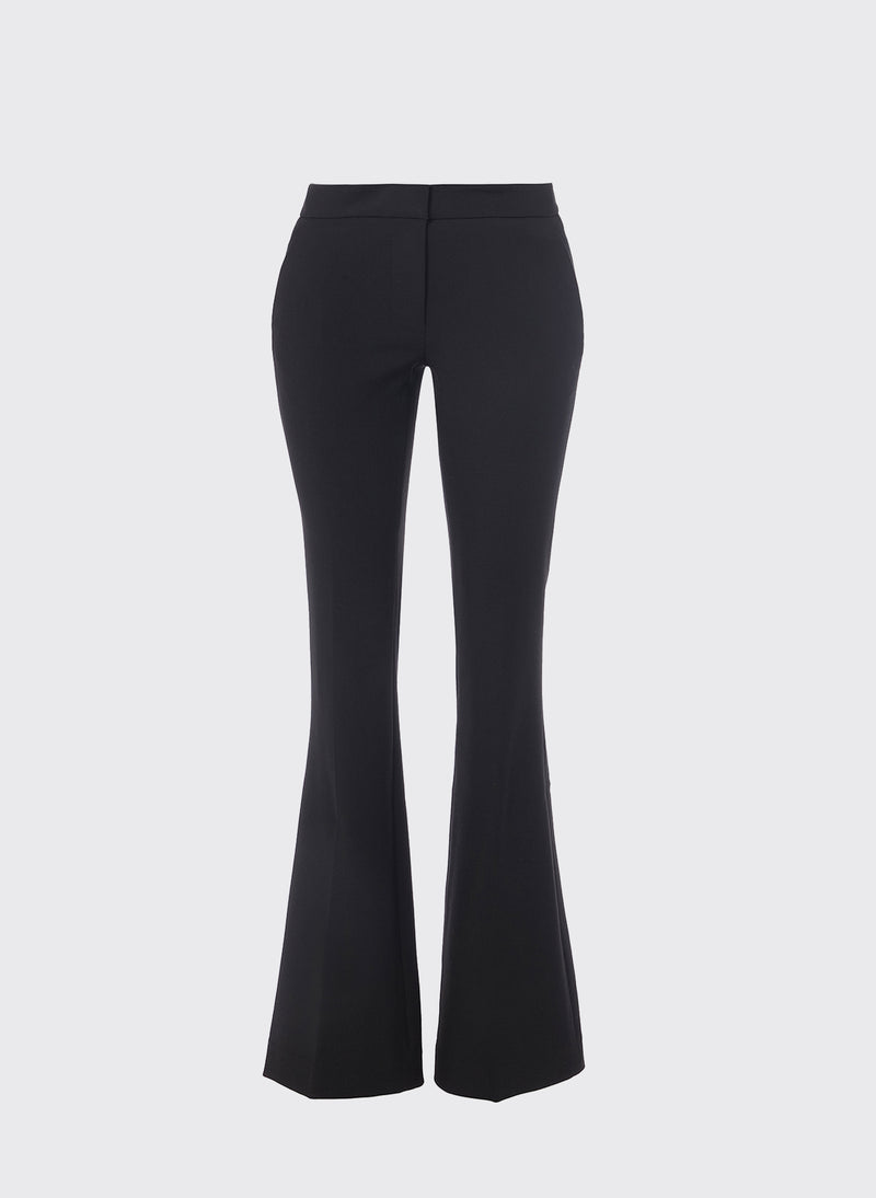 Anson Stretch Bootcut Pant Black-5