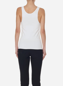 Mini Seamless Sweater Tank Ivory-2