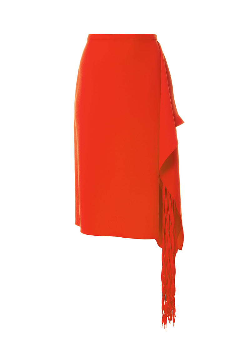 Triacetate Fringe Skirt Triacetate Fringe Skirt