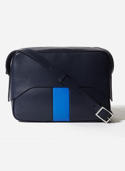 Tibi Garcon Bag Navy/Blue Multi-13