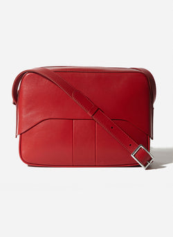 Tibi Garcon Bag Red Multi-17