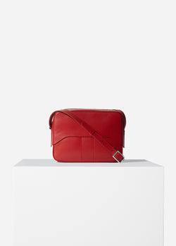 Tibi Garcon Bag Red-16