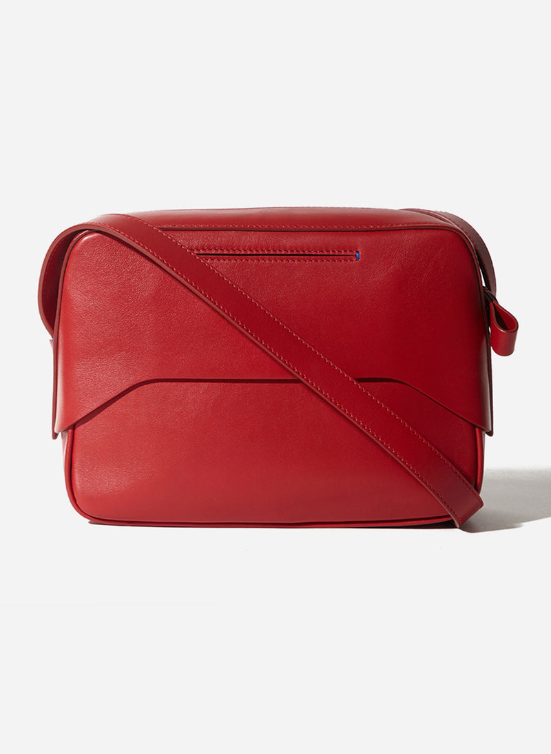 Tibi Garcon Bag Red Multi-18