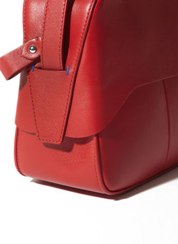 Tibi Garcon Bag Red Multi-19