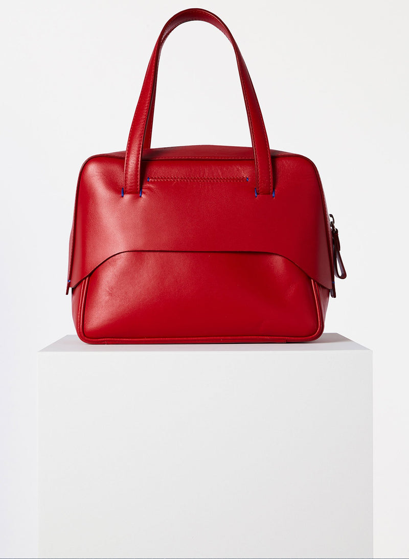 Tibi Mignon Bag Red Multi-6