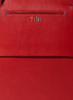 Tibi Mignon Bag Red Multi-9