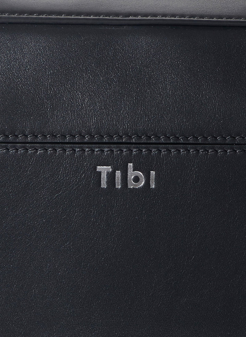 Tibi Papa Bag Black/Blue Multi-12