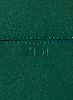 Tibi Papa Bag Green/White-5