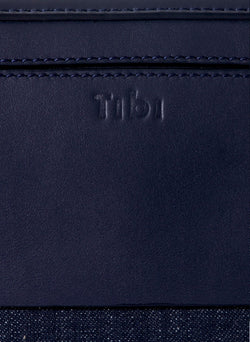Tibi Papa Bag Navy/Red-6