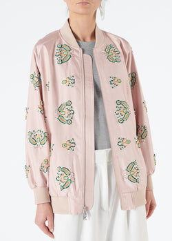 Beaded Jacket Blush Multi-5