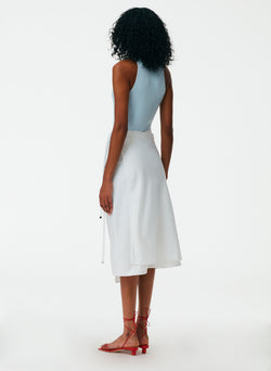 The Leisure Suit Wrap Skirt The Leisure Suit Wrap Skirt