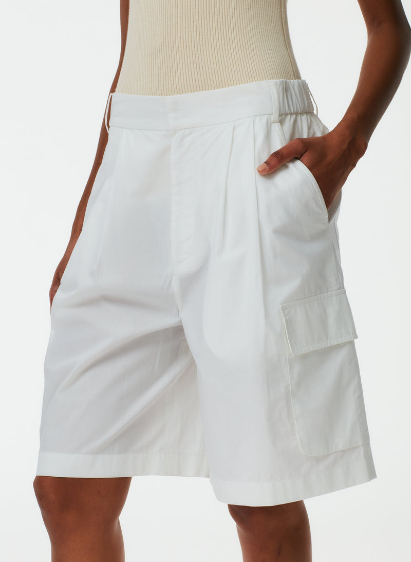 Vintage Cotton Pull On Cargo Shorts Vintage Cotton Pull On Cargo Shorts