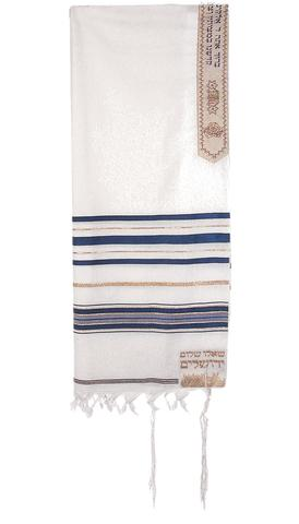 T.D. Jakes - Tallit - 12 Tribes - Blue