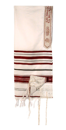 T.D. Jakes - Tallit - 12 Tribes - Red