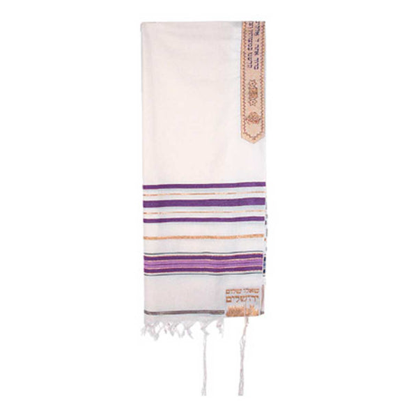 T.D. Jakes - Tallit - 12 Tribes - Purple