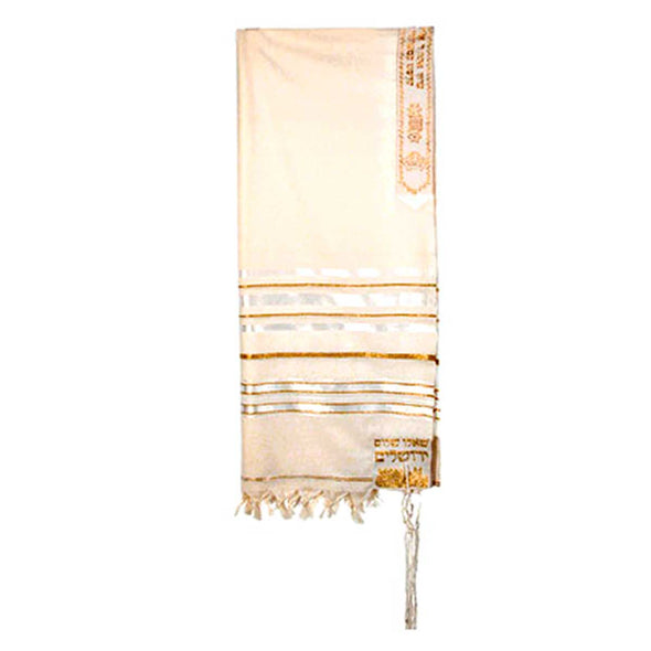 T.D. Jakes - Tallit - 12 Tribes - White
