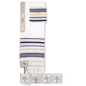 T.D. Jakes - Prayer Shawl - Dark Blue