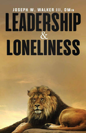 T.D. Jakes - Leadership & Loneliness Book by Joseph Walker - Autograph