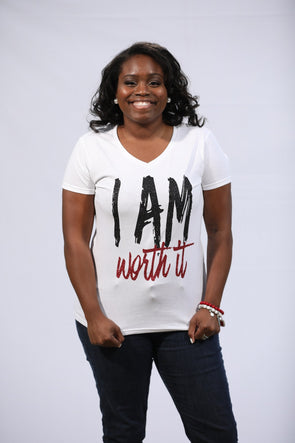 T.D. Jakes -  I Am Worth It Short-Sleeve T-Shirt
