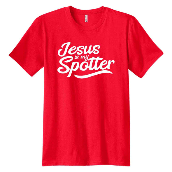 T.D. Jakes - Jesus Is My Spotter T-Shirt - Red