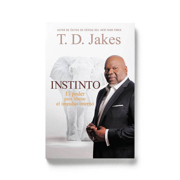 T.D. Jakes - Instinct Hard Backed Book Spanish